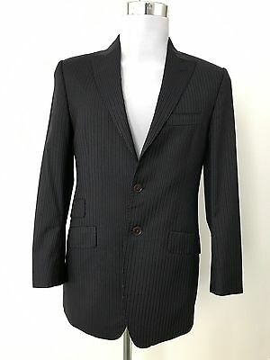Paul Smith ' the westbourne' suit, black/grey stripe, 36R, Small