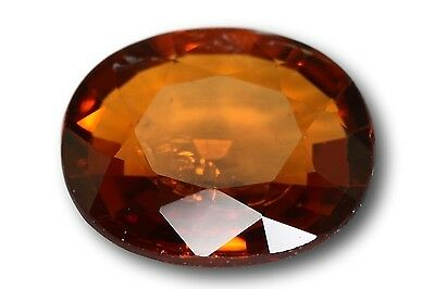 Grenat Spessartine Fanta naturel 1.29 carat orange