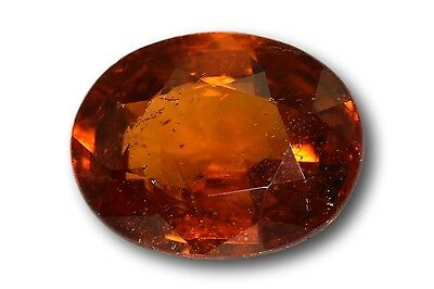 Grenat Spessartine Fanta naturel 1.39 carat orange