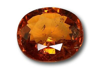 Grenat Spessartine Fanta naturel 1.44 carat orange