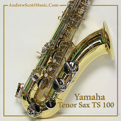 Yamaha TS 100 Tenor Saxophone in Case - Used with 3 Months Warranty