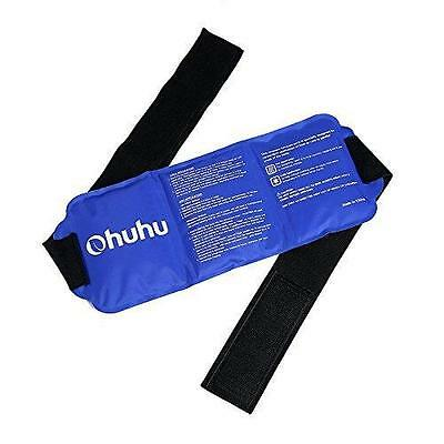 Ohuhu Reusable Hot Cold Gel Ice Pack Flexible Ice Pack with Wrap Pain Relief...