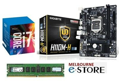 PC Upgrade Kit Quad Core i7 Kabylake 7700 + Gigabyte Motherboard + 16GB DDR4 RAM