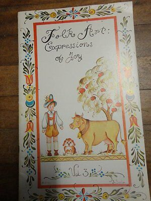 PAINTING BOOK -  FOLK ART EXPRESSIONS OF JOY Vol 3 by Jo Sonja