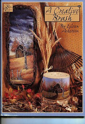 PAINTING BOOK - A CREATIVE BRUSH by EILEEN ACKERSON