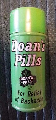 Vintage Doan's Pills Tin Container Estate Item Medicine