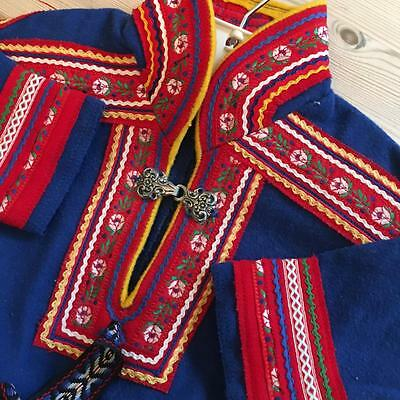 Authentic Childs Bunad Saami Lapland Norwegian Norway Lappland Sami