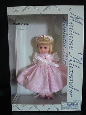Doll 2000 Madame Alexander I Can Tie My Shoes New in Box