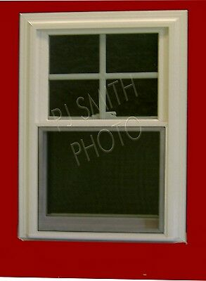 1 Lot of 10 New White Double Hung Vinyl Replacement Windows,No Grids.