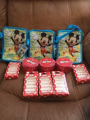 Disney Mickey Minnie Mouse Accessories Joblot Watches Bags Press On Nails Gifts