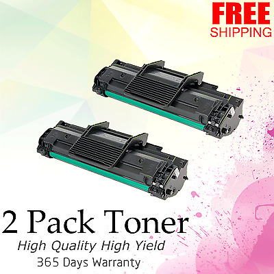2PK ML-2010D3 Toner Cartridge Compatible For SAMSUNG ML-2010 2510 2570 2571N