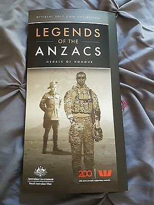 *COMPLETE SET* 2017 legends of the anzacs