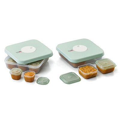 NEW Joseph Joseph Date Dial Baby Food Container Set 10pce