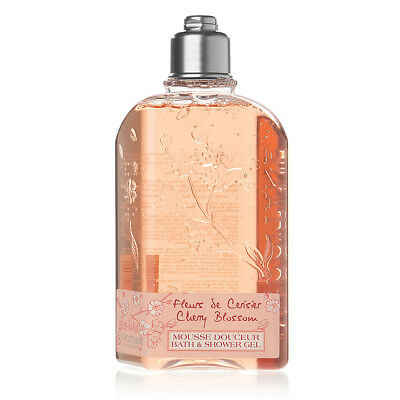 NEW L'Occitane Cherry Blossom Bath & Shower Gel 250ml
