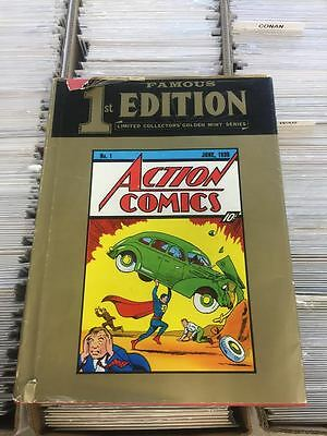 Famous First Edition Action Comics (1974) Dc Comics Treasury Edition Hardcover