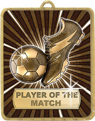 Soccer / Football Player of the Match  63x75mm Engraved FREE