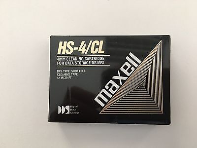 HS-4/CL Maxell 4mm Cleaning Cartridge