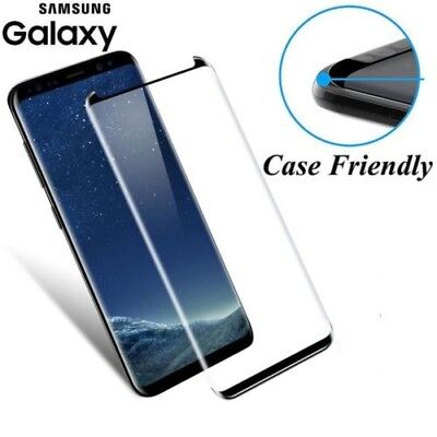 For Samsung Galaxy S9 Plus 3D Full Curved Tempered Glass LCD Screen Protector