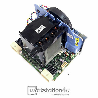 Dell Precision T5500 2nd CPU Riser Card / Board 0F623F + Heatsink + RAM Lüfter