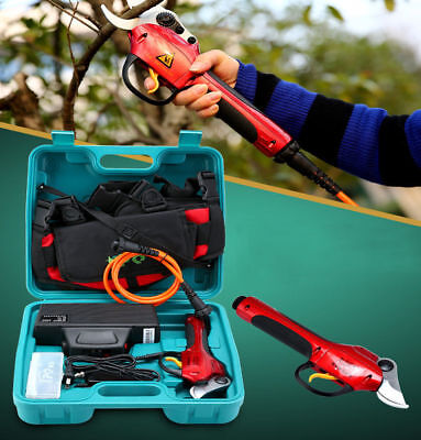 New 220V High Speed Electric Tree Pruner Cutter Electric Pruning Shears & Snips