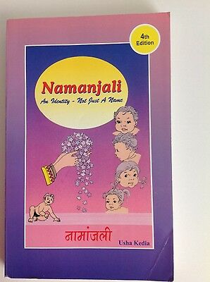Namanjali - A Book of Indian Names for the Babies by Usha Kedia