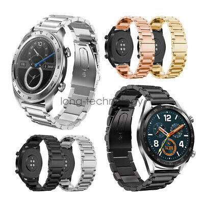 Stainless Steel Link Watch Band Strap For Huawei Smart Watch 2 Pro GT Classic