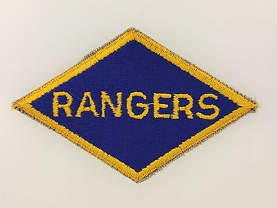 SUPERIOR QUALITY WWII America U.S. Army RANGER Division cloth sleeve patch