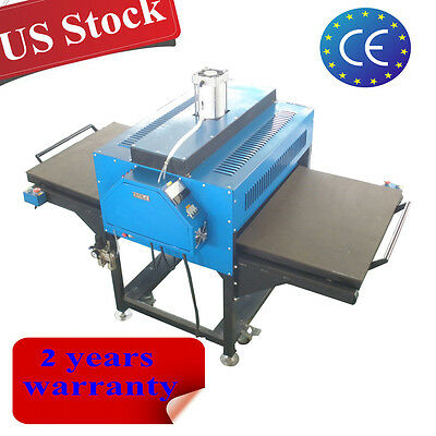 """USA 220V 31"""" x 39"""" Pneumatic Double-Working Table Wide Format Heat Press Machine"""