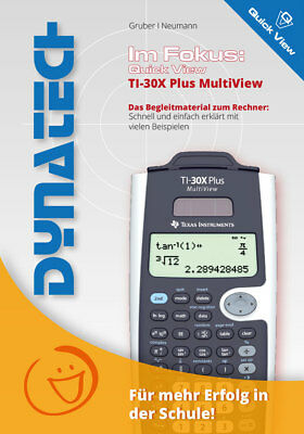 QuickView TI30X Plus MV - Im Fokus TI-30X Plus MultiView Begleitmaterial
