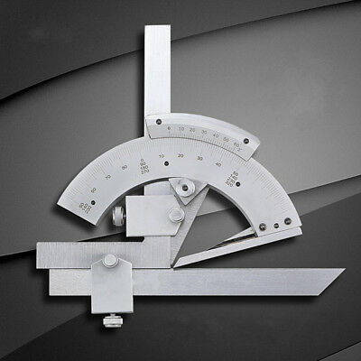 0-320°Universal Bevel Protractor Scales Inner And Outer Angle Measuring FinderUK