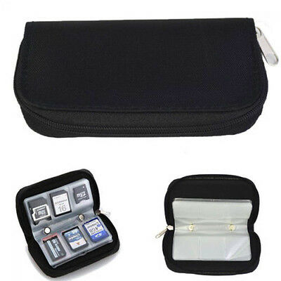 Box Pouch Carrying Case Memory Card Storage Holder CF/SD/SDHC/MS/DS Bag