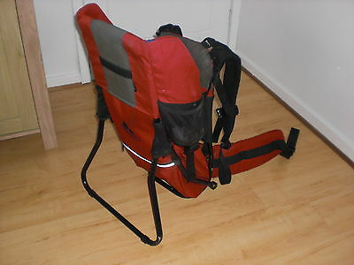 Vaude Jolly Backpack Baby Carrier Red