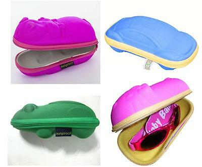 Banz Childrens Glasses / Sunglasses Case Available In Hippo, Frog, Car Or Rabbit