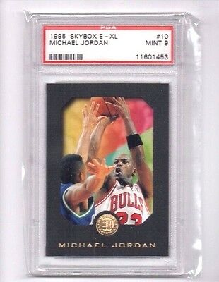 Michael Jordan 1995-96 Skybox E-XL,(Graded), PSA 9 Mint !!