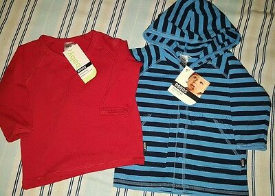 ** 2x BABY BOY BONDS TOPS Size 00 - New with tags **