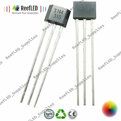 A3144 3144E OH3144 Y3144 Hall Effect Sensor ICs Magnetic Detector Arduino PI UK