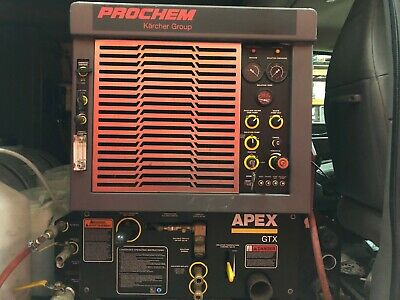 Prochem Apex GTX Carpet Cleaning Truckmount Machine (90 Day Warranty)