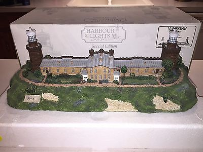 1997 Harbour Lights Navesink (Twin Lights) NJ Signed Special Ed. #3426 COA w/Box