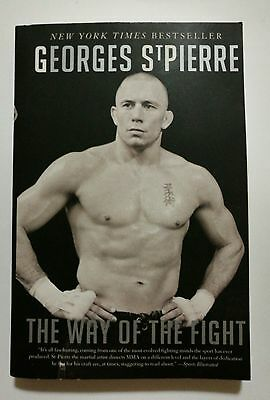 The Way of the Fight by Georges St-Pierre (Paperback, 2014)
