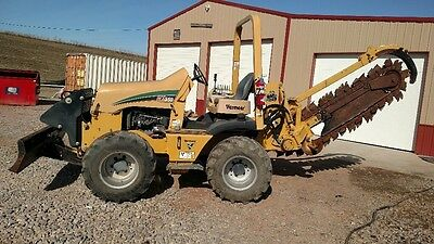 2011 Vermeer RTX 550 Riding Trencher 6 Way Blade 4 Wheel Steer
