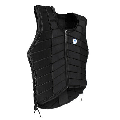 Adult Men's Equestrian Vest Horse Riding Body Protector Safety Waistcoat XXL