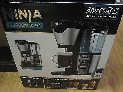 Ninja Coffee Bar Auto IQ Brewer w/ Glass Carafe Includes Frother CF081
