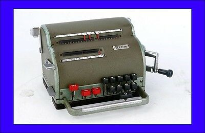 Precisa-117 Calculating Machine in Working Order. Switzerland, 1960s