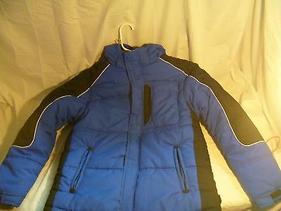 Athletic Works Boys Winter Jacket Blue / Black SIZE XL (16/18) wc 12147