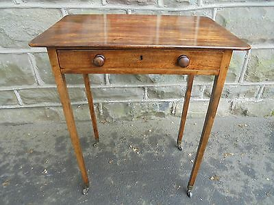 Antique Geo III Mahogany Side Table