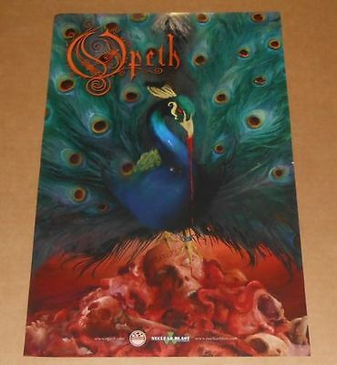Opeth Promo  Poster 2016  Sorceress 11X17 Peacock
