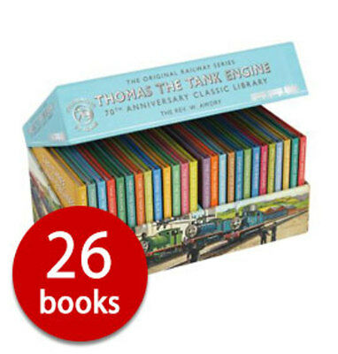 Thomas The Tank Engine Classic 70th Anniversary Collection 26 Books Box Gift Set