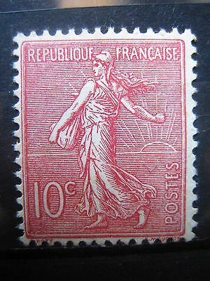 Timbres France-N° 129 Neuf* Avec Trace De Charniere