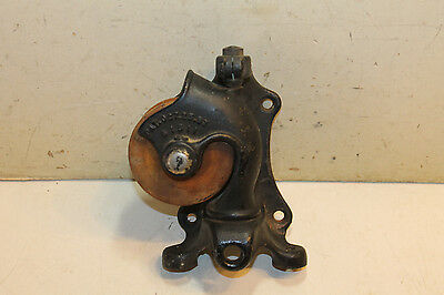 Antique Nmco Pulley - Vertical Or Horizontal Mount