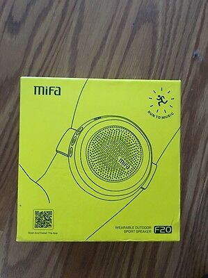 MiFa F20 Wearable Outdoor Sport Speaker With Arm Band - Blue - NEW IN BOX!